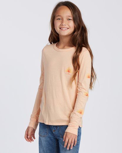 0 Sun Kissed Long Sleeve T-Shirt Orange ABGZT00113 Billabong
