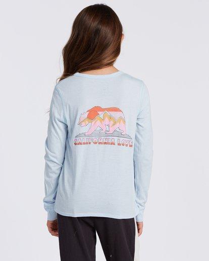 2 Cali Love Long Sleeve T-Shirt Blue ABGZT00114 Billabong