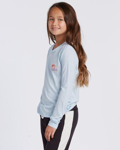 1 Cali Love Long Sleeve T-Shirt Blue ABGZT00114 Billabong