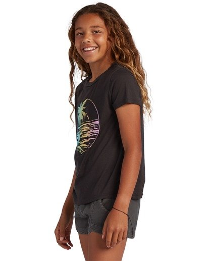 1 Girl's Island Girl T-Shirt Black ABGZT00121 Billabong