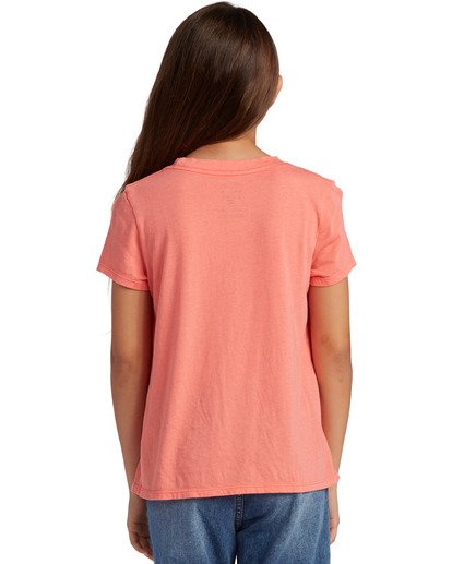 2 Girl's Be Sunshine Short Sleeve T-Shirt Multicolor ABGZT00126 Billabong