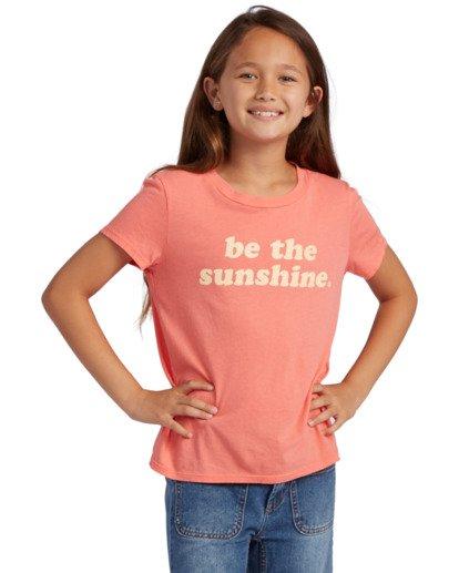 0 Girl's Be Sunshine Short Sleeve T-Shirt Multicolor ABGZT00126 Billabong