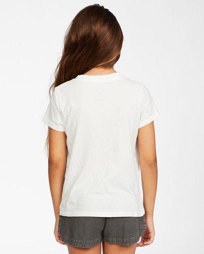 2 Girl's Sunny Skies T-Shirt White ABGZT00145 Billabong
