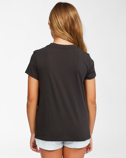 2 Girl's Good Waves T-Shirt Black ABGZT00146 Billabong