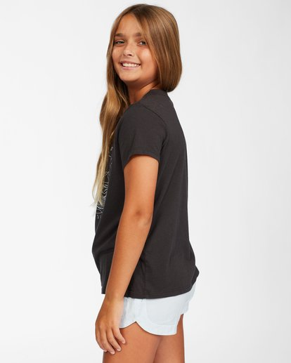 1 Girl's Good Waves T-Shirt Black ABGZT00146 Billabong