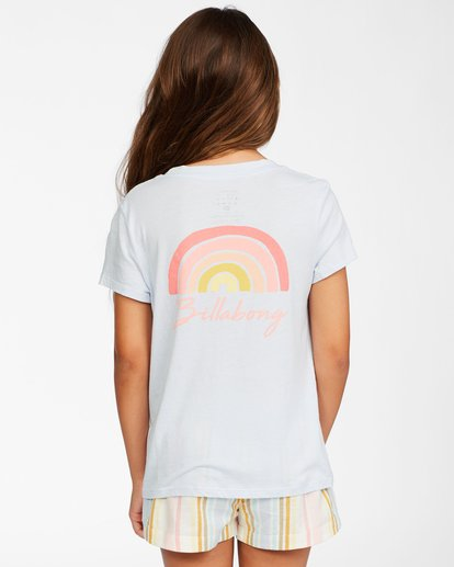 2 Girls' Chasing Rainbows T-Shirt Brown ABGZT00147 Billabong