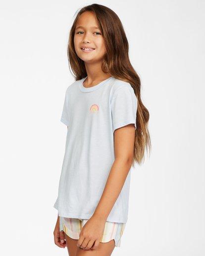 1 Girls' Chasing Rainbows T-Shirt Brown ABGZT00147 Billabong