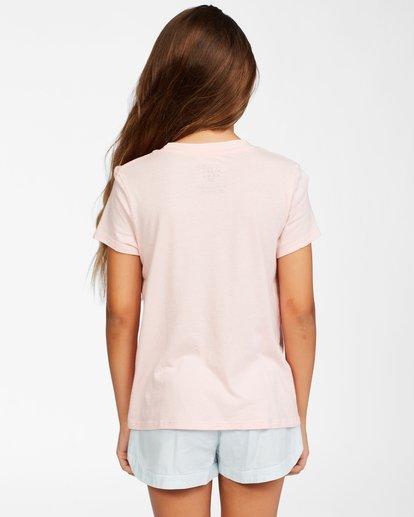 2 Girls' Be In Nature T-Shirt Pink ABGZT00148 Billabong