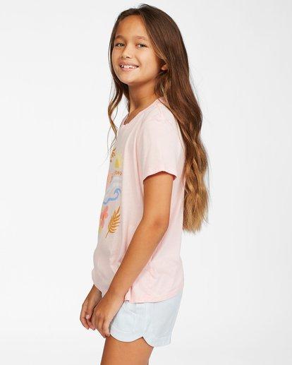 1 Girls' Be In Nature T-Shirt Pink ABGZT00148 Billabong
