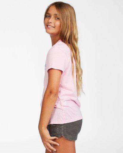 1 Girls' Surf Club T-Shirt Pink ABGZT00150 Billabong