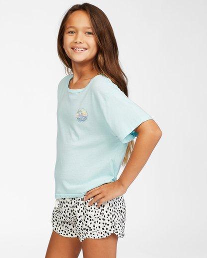 1 Girls' Good Things T-Shirt Blue ABGZT00153 Billabong