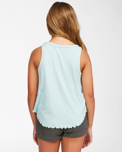 2 Girls' Always Shinning Tank Top Blue ABGZT00158 Billabong