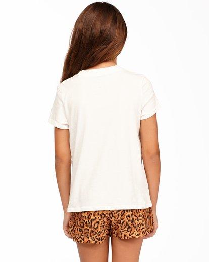 2 Girls' Boardwalk Vibes T-Shirt White ABGZT00166 Billabong