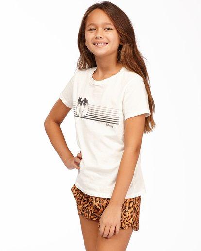 1 Girls' Boardwalk Vibes T-Shirt White ABGZT00166 Billabong