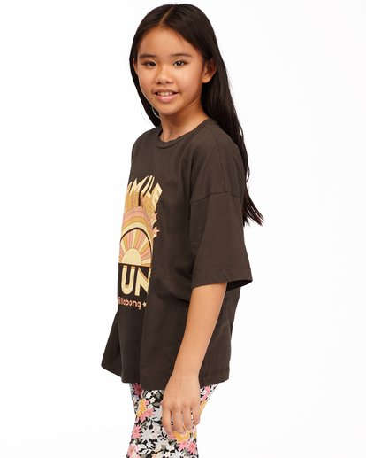 1 Girls' Smile At The Sun T-Shirt Black ABGZT00169 Billabong
