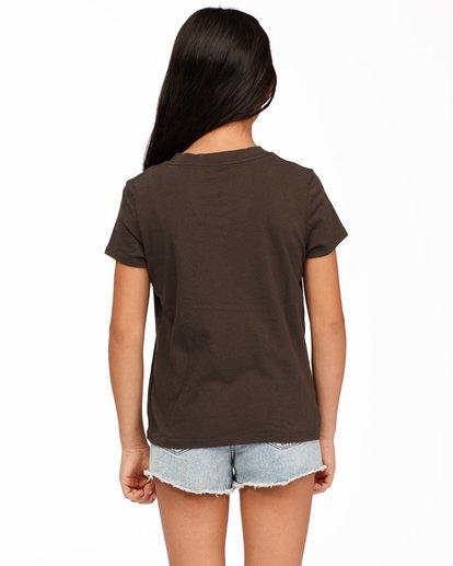 2 Girls' Vacation Postcard T-Shirt Black ABGZT00177 Billabong