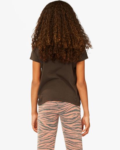 2 Girls' Give Love Boyfriend T-Shirt Black ABGZT00179 Billabong