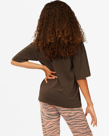 2 Girls' Tiger Time T-Shirt Black ABGZT00186 Billabong