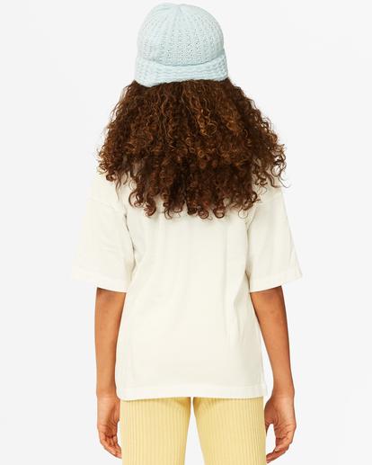 2 Girls'  Dare To Dream T-Shirt White ABGZT00187 Billabong