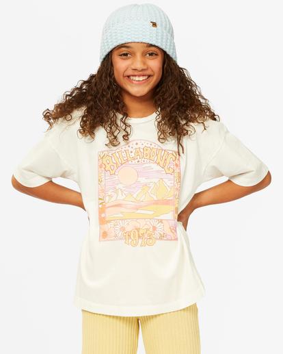 0 Girls'  Dare To Dream T-Shirt White ABGZT00187 Billabong