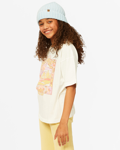 1 Girls'  Dare To Dream T-Shirt White ABGZT00187 Billabong