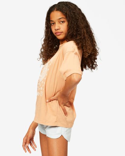 1 Girls' Moons Among Us T-Shirt Brown ABGZT00188 Billabong