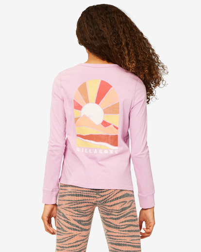 2 Girls' Enjoy The Journey Long Sleeve Boyfriend T-Shirt Multicolor ABGZT00192 Billabong