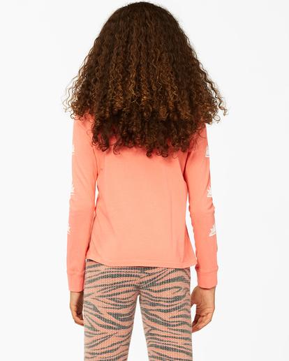 2 Girls'  Born Sunny Long Sleeve T-Shirt Multicolor ABGZT00193 Billabong
