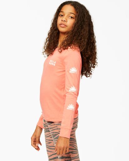 1 Girls'  Born Sunny Long Sleeve T-Shirt Multicolor ABGZT00193 Billabong