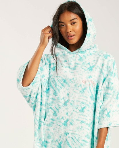 3 Women's Hooded Towel Blue ABJAA00109 Billabong