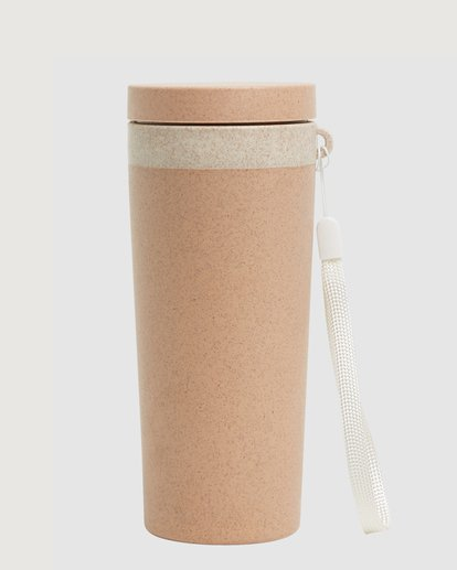 1 Tomorrow Insulated Eco-Consious Cup Brown ABJAA00127 Billabong