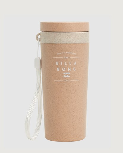 0 Tomorrow Insulated Eco-Consious Cup Brown ABJAA00127 Billabong