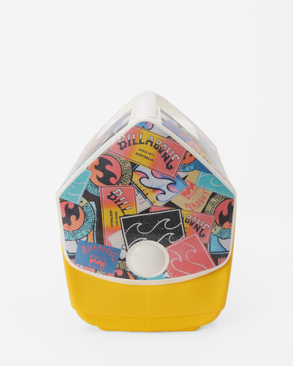 3 Billabong x Igloo Playmate Pal Cooler Yellow ABJAA00138 Billabong
