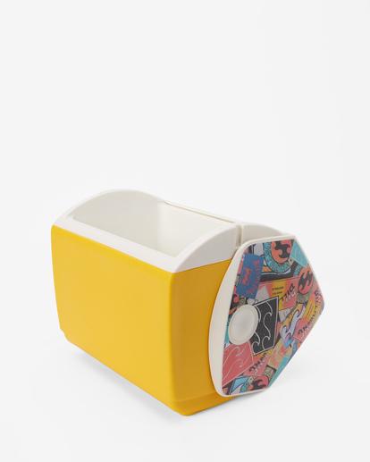 2 Billabong x Igloo Playmate Pal Cooler Yellow ABJAA00138 Billabong