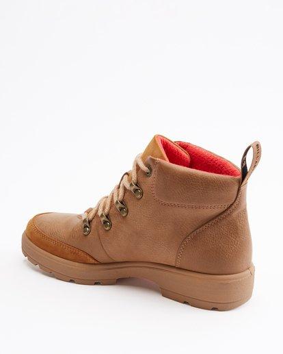 4 Aurora Boots Brown ABJB600010 Billabong