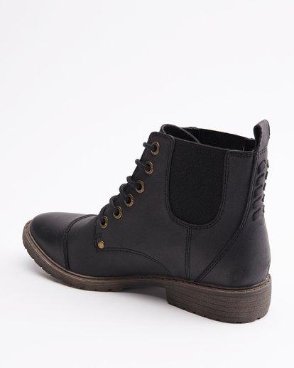 3 Willow Way 2 Lace-Up Boots Black ABJB700005 Billabong