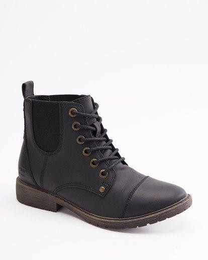 2 Willow Way 2 Lace-Up Boots Black ABJB700005 Billabong
