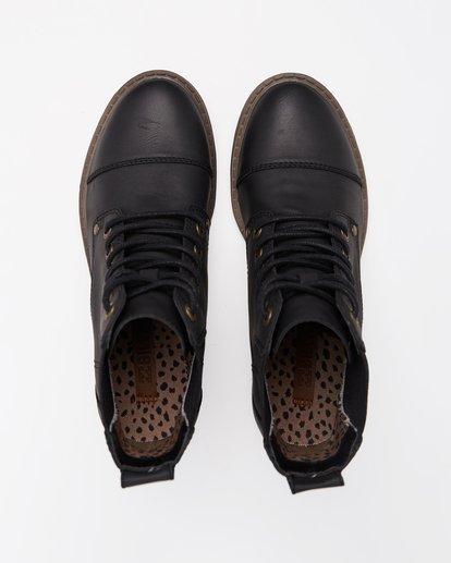 1 Willow Way 2 Lace-Up Boots Black ABJB700005 Billabong