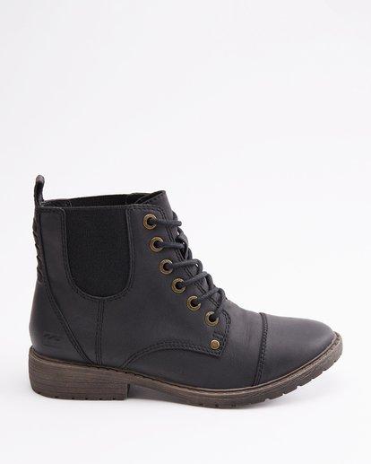 4 Willow Way 2 Lace-Up Boots Black ABJB700005 Billabong