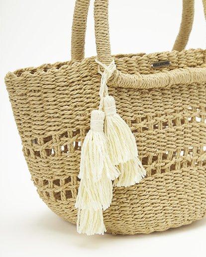 4 Hang On Straw Bag White ABJBP00136 Billabong