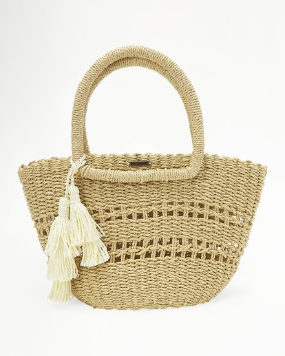 1 Hang On Straw Bag White ABJBP00136 Billabong