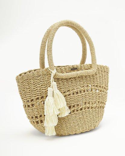 3 Hang On Straw Bag White ABJBP00136 Billabong