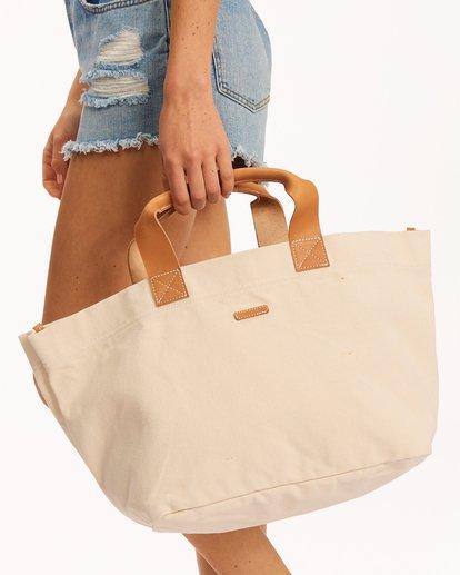 4 My Guy Tote Bag White ABJBP00139 Billabong