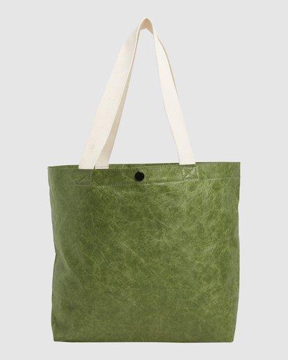 3 Tomorrow Shopper Bag Green ABJBP00151 Billabong