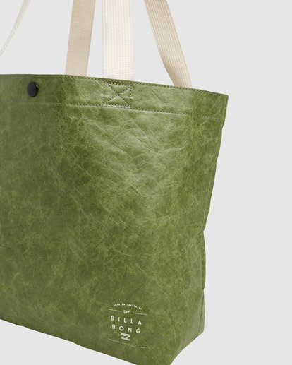 4 Tomorrow Shopper Bag Green ABJBP00151 Billabong