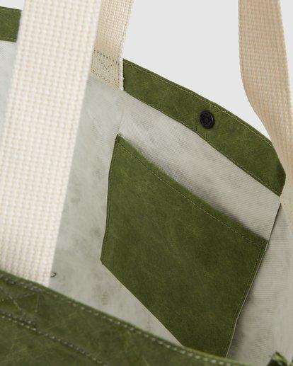 5 Tomorrow Shopper Bag Green ABJBP00151 Billabong