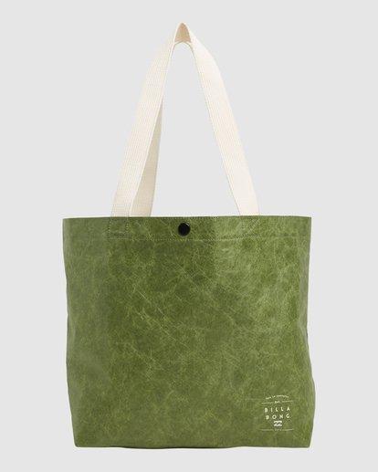 0 Tomorrow Shopper Bag Green ABJBP00151 Billabong