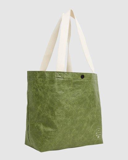 1 Tomorrow Shopper Bag Green ABJBP00151 Billabong