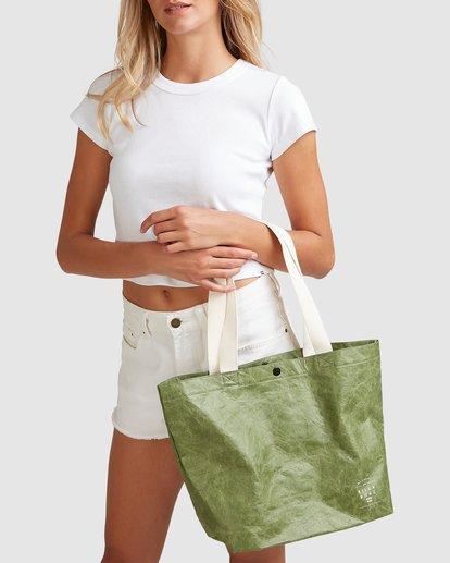 6 Tomorrow Shopper Bag Green ABJBP00151 Billabong