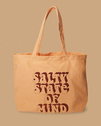 2 Salty Blonde Take Me Too Tote Bag Grey ABJBT00101 Billabong